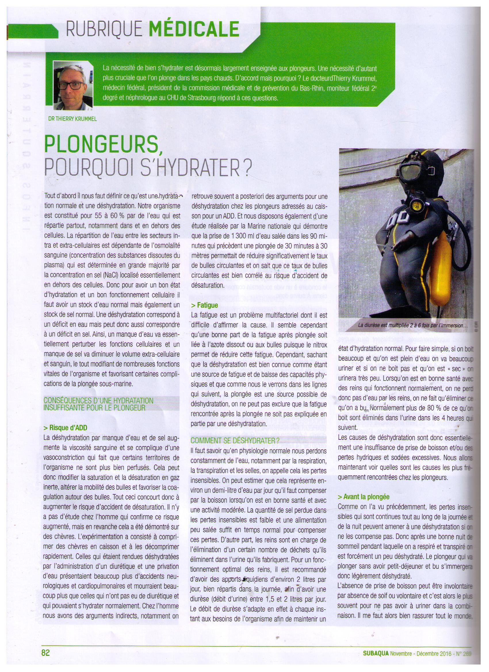 Pourquoi shydrater page 1