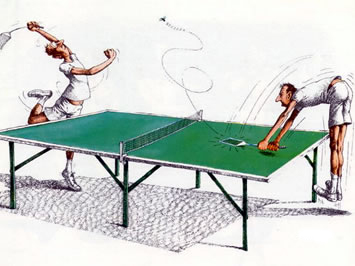 ping pong con mosquitos www Humor12 com