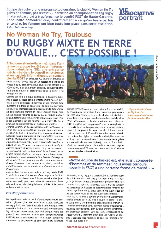 Article Tag Mixité